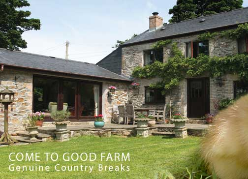 Come To Good Farm, Genuine Country Breaks, Feock, Nr Truro, Cornwall